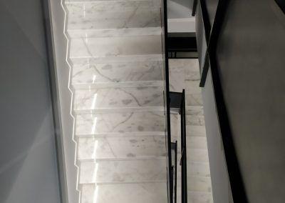 Escalera Blanco Ibiza